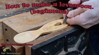 How to make your own Welsh Lovespoon, a beginners guide