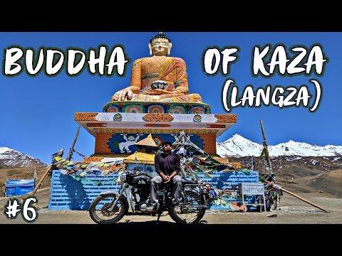 THE STATUE OF BUDDHA, LANGZA VILLAGE ( KAZA )