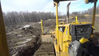 d6n spreading clay fill