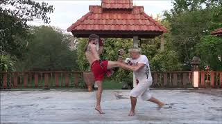 Rear Round Kick Technique # 5