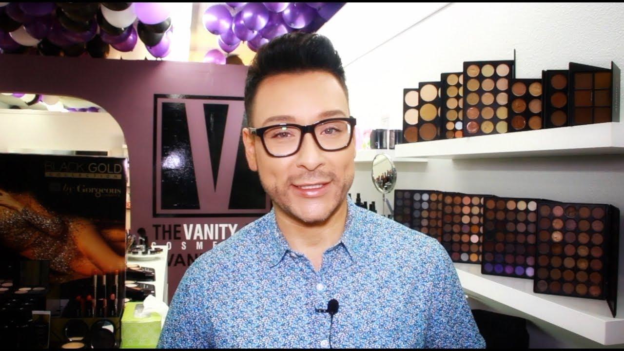 Celebrity Makeup Artist Mathias4Makeup Hosts the VanityBox Cosmetics Store Launch - mathias4makeup