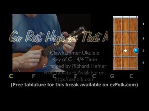 Go Rest High on That Mountain - Clawhammer Ukulele - YouTube