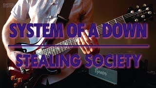System Of A Down - Stealing Society (guitar cover w/ tabs in description)