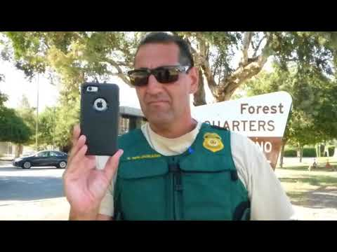 """US Forest Headquarters,  ("""" I DON'T REALLY CARE """") THANKS HECTOR & ALL WHO DONATE  1st Amend Audit"""