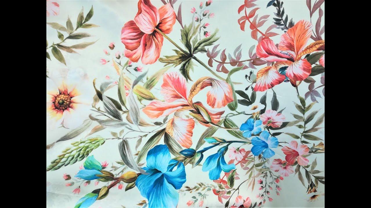 f8b08ef0a4 Telas para vestidos y kimonos - Tiendatelas.com - YouTube