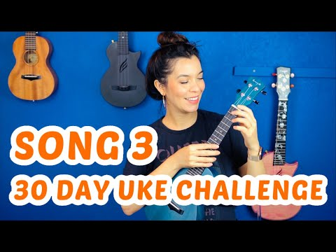 SONG 3 #30DayUkeSongChallenge - Lava Ukulele Tutorial