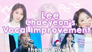 [이채연] Lee Chaeyeon's Vocal Improvement