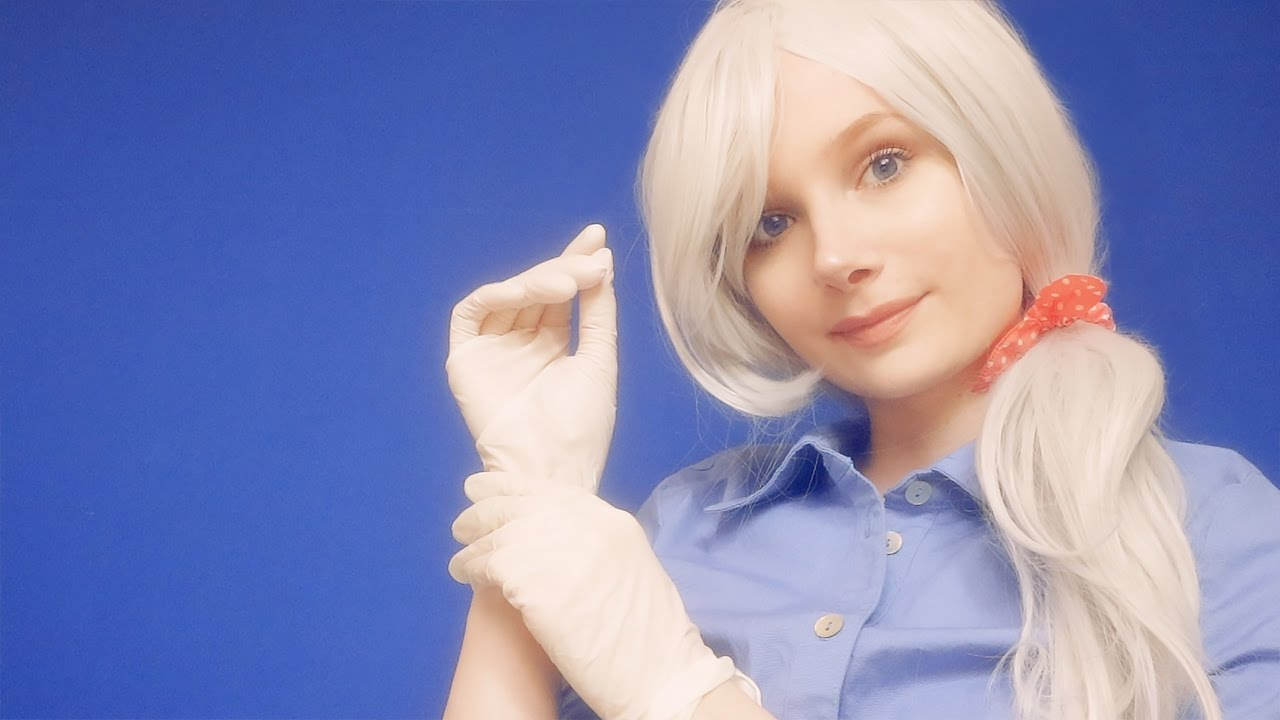 Checkup with Nurse Violet ~ ASMR Check up, Gloves, Cold pack, Triggers