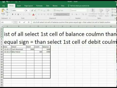 how to put add formula in excel