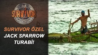 Ünlüler Adasına Kendi Yaptığı Tekneyle Geldi! | Survivor Özel