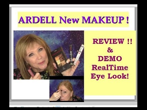 ARDELL New MAKEUP Review & RealTime Eye Demo! 40+ 50+ 60+ Wo