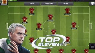 Top Eleven 2018 |Be a Football Manager |Gameplay for Android 2018