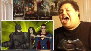 How Batman v Superman: Dawn of Justice Should Have Ended REACTION!!