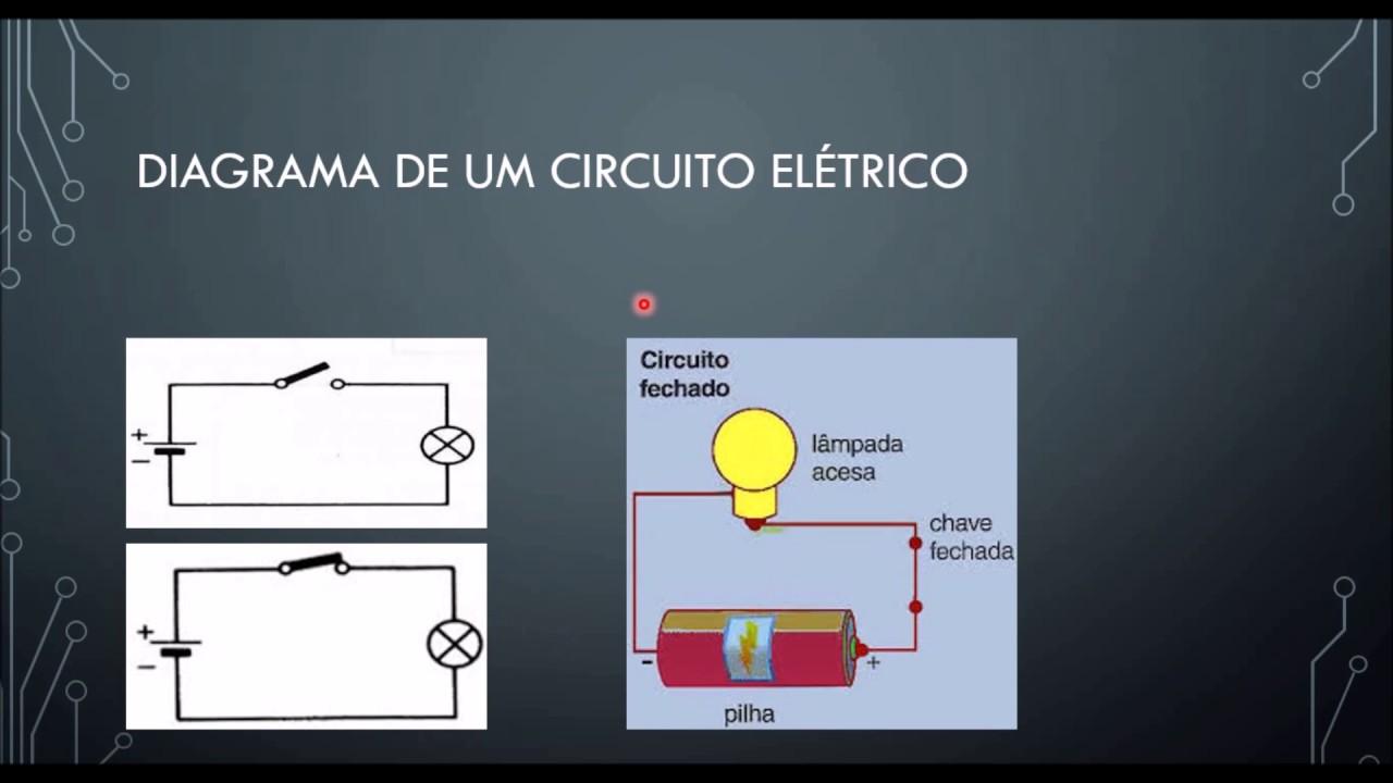 Circuito Eletrico : Curso de eletrônica circuito elétrico aula youtube