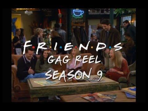 Friends неудачные дубли сериала друзья.Gag Reel