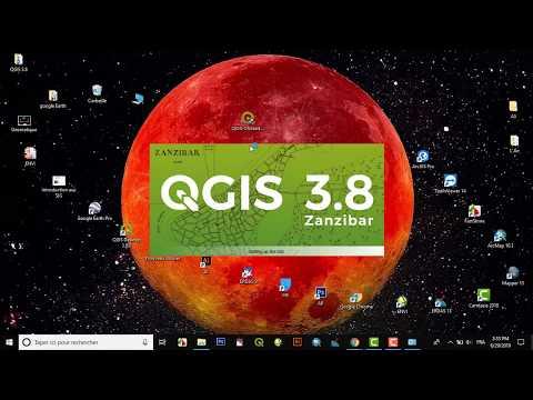 QGIS 3.8.0 'Zanzibar' Free