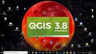 Gambar cover QGIS 3.8.0 'Zanzibar' Free
