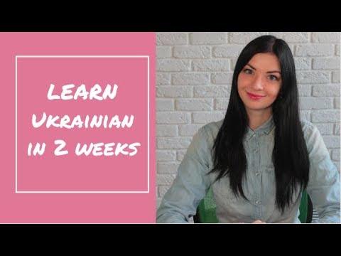 Learn Ukrainian in 2 weeks! ONLINE Language marathon