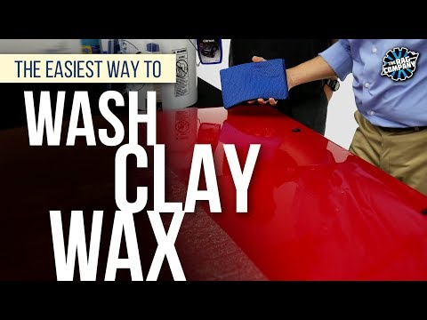 The Easiest Way To Wash + Clay + Wax | THE RAG COMPANY