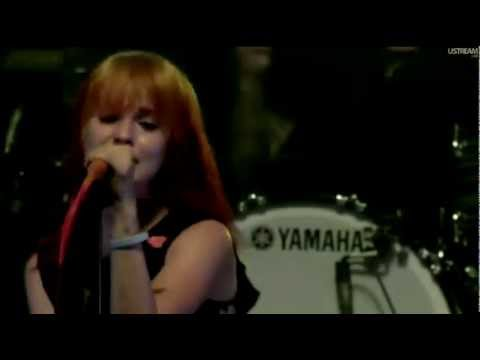 Paramore  Playing God  @ Fueled  Ramen 15th Anniversary 2011 HD