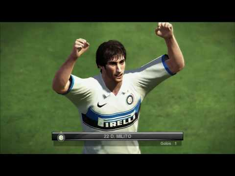 Sampdoria X FC Inter - PES 2010 - Master League 1ª Rodada