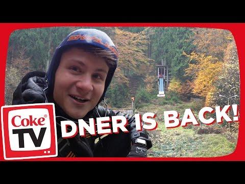 Skispringen mit Dner| #CokeTVMoment