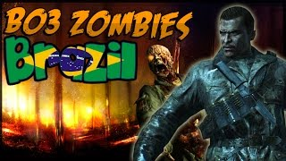 Black Ops 3 Zombies Easteregg - BRAZIL Zombies DLC Map! Dempsey's THE GIANT Quotes (CoD BO3 Zombies)