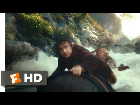 The Hobbit: The Desolation of Smaug - Barreling Down the River Scene (4/10)   Movieclips