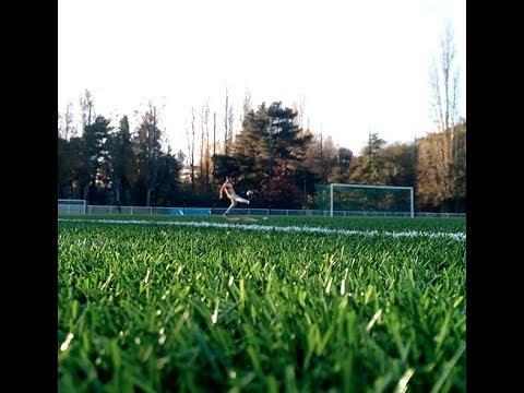 Free Kick In Nantes France, Futbol (soccer) Skills.