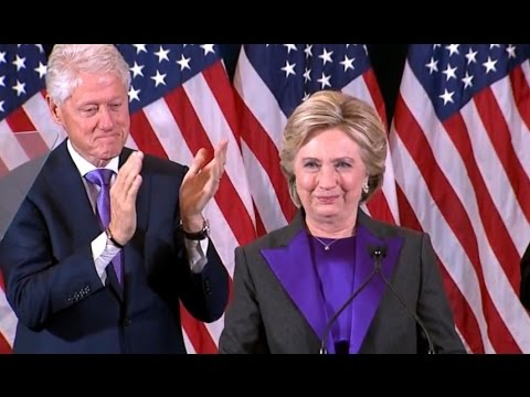 Hillary Clinton FULL Concession Speech | Election 2016