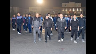 الرئيس السيسي يزور الكلية الحربية فجرًا.. ويلتقي طلابها