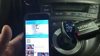 Установка Bluetooth адаптера в машину Toyota Prius (из телефона транслируется в колонки)