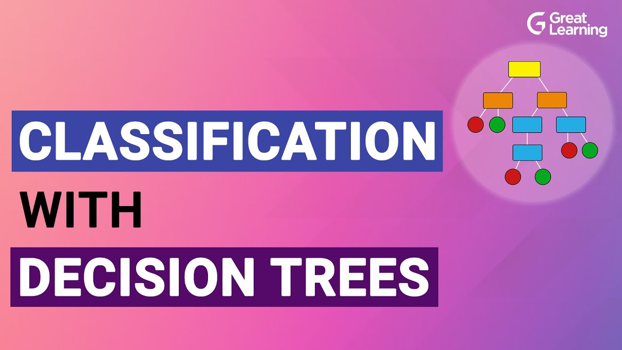 Classification with Decision trees | Decision Tree Algorithm Explained