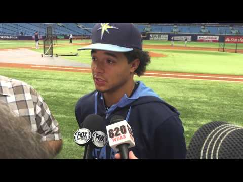 Rays Chris Archer Talks About All-Star Game & Logan Forsythe