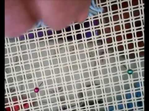 Tappeti Fai Da Te Con Fettuccia : Tappeto su cavonaccio con uncinetto lana o cotone facile da fare