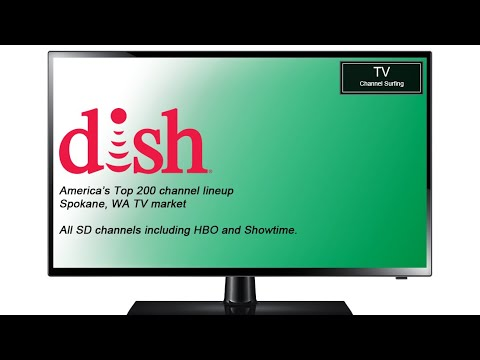 TV Channel Lineup: Dish Network, America's Top 200 Package (Spokane, WA TV Market)