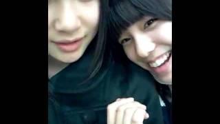 AKB48 11期研究生 小嶋菜月(なっつん):撮影&投稿 AKB48 12期研究生 高橋朱里(じゅり) [元記事] ...