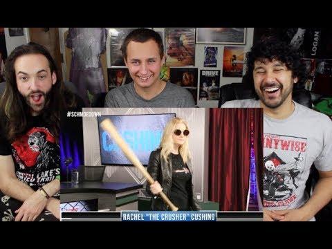 Movie Trivia SCHMOEDOWN Samm Levine VS Rachel Cushing  REACTION!!!