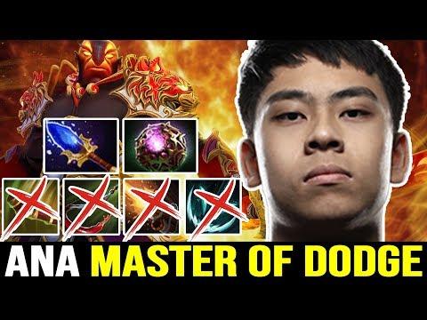 ANA Ember Spirit GOD - The Master Of DODGE 7.22 Dota 2