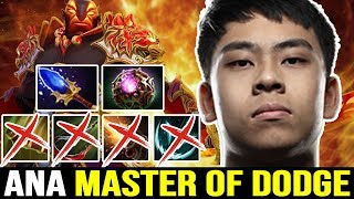 ANA Ember Spirit GOD - The Master of DODGE 7.22 Dota 2