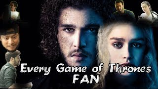 Every Game Of Thrones Fan || HOUSEFOOL Ep 1