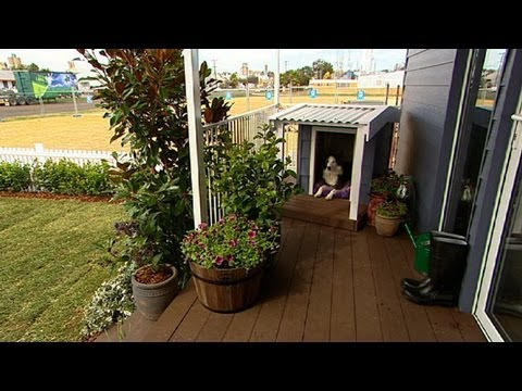 Better homes and gardens diy how to build a dog kennel youtube