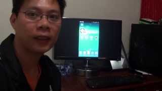 samsung galaxy s4 connecting to computer monitor using mhl adapter epl 3fhu through hdmi port