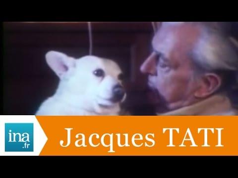 Jacques Tati et Hasard - Archive vidéo INA