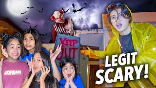 We TURNED Our House To A Scary HAUNTED Maze!! | Ranz and Niana
