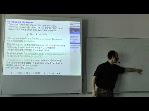 Multiple View Geometry - Lecture 3 (Prof. Daniel Cremers)