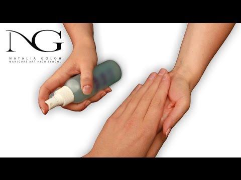 Антисептик для рук перед маникюром