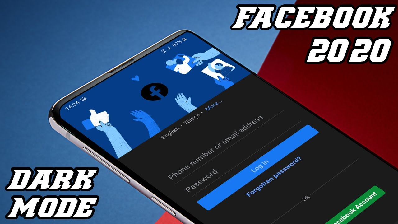 Facebook Dark Mode Updated 2020    Enable Dark Mode on Facebook On Android Devices