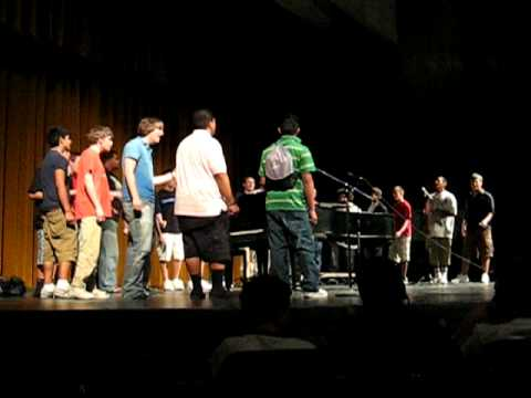 JB Ah Fua Still of the Night with Cottonwood Men's Choir May 2007