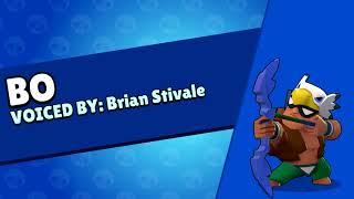 BO Brawl Stars DEMO- Most Lines - Brian Stivale VOICE ACTOR